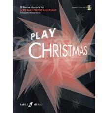 Play Christmas Alto Saxophone   CD