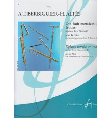 Dix-Huit Exercices ou Etudes avec Accomp