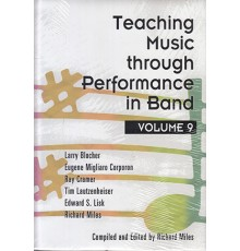 Teaching M. Thro. Perfor. Band Vol. 9