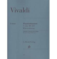 Flautinokonzert C Major RV 443/ Red. Pno