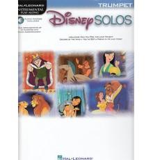 Disney Solos for Trumpet Book/ Online Au
