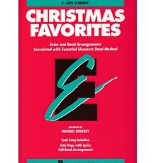 Christmas Favorites. Alto Clarinet