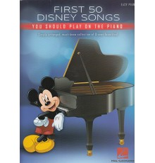 Firts 50 Songs Disney Songs Easy Piano