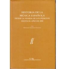 Historia de la Música Española 2 Vol. De