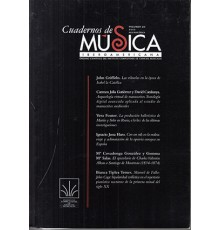 Cuadernos de Música Iberoamericana Vol.