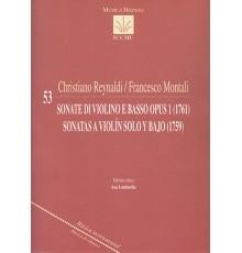 Sonate di Violino e Basso Op. 1 (1761)