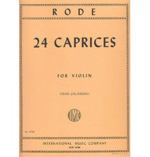 24 Caprices for Violin