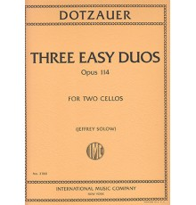 Three Easy Duos Op. 114