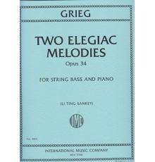 Two Elegiac Melodies Op. 34