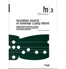 Miscelanea Musical en Homenaje a Josep C