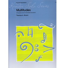 Multitudes 24 Solos for the Multiple Per