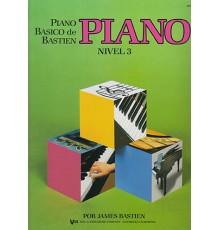 Bastien P. Básico.Piano. Nivel 3º