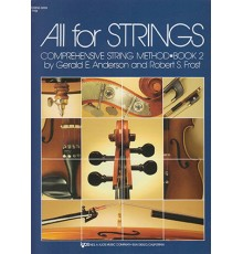 All for Strings. String Bass. Book 2