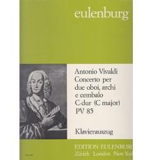 Concerto in C Major for 2 Oboes PV 85/ R