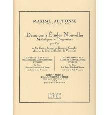 200 Etudes Nouvelles.3 Cahier.Trompa