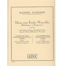 200 Etudes Nouvelles.4 Cahier.Trompa