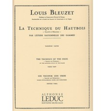 La Technique du Hautbois Vol. 3