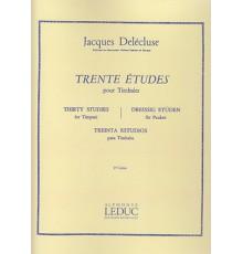 Trente Etudes pour Timbales Vol. 2