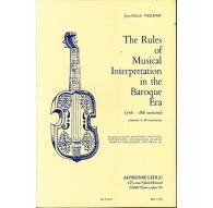 The Rules of Musical Interpretation in t