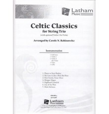 Celtic Classics for String Trio/ Full S