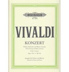 Konzert für Violine, Streicher uns Basso