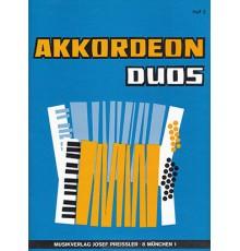 Akkordeon Duos Heft 3