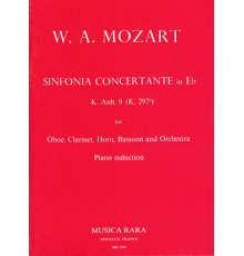 Sinfonia Concertante in Eb KV297b/ Red.P