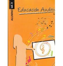 Educación Auditiva Alumno Vol. 3   CD