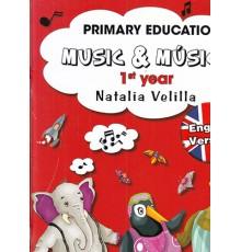 Music & M. Alumno  1 Year   DVD Inglés