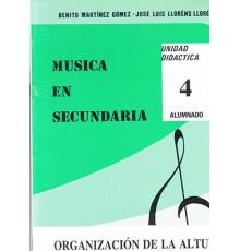 Música en Secundaria. Alumno Vol. 4