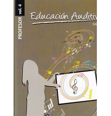 Educación Auditiva Profesor Vol. 4   CD