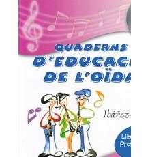Quaderns Ed.Oida Vol. 1 Professor   CD