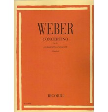 Concertino Op. 26/ Red.Pno.