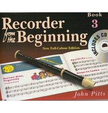 Recorder from the Beginning Book 3   CD