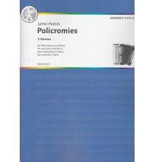 Policromies for Accordion and Piano