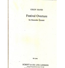 Festival Overture for Recorder Quintet