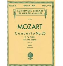 Concerto Nº 25 in C Major/ Red. Pno.
