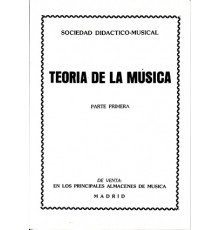 Teoría de la Música 1 Parte Primera