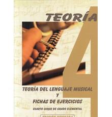 Teoría del Lenguaje Musical 4º y Fichas