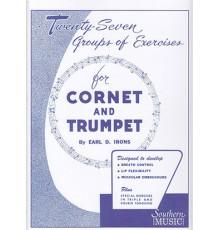 Twenty-Seven Groups of Exercices