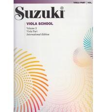 Suzuki. Viola Vol. 3.  Revised