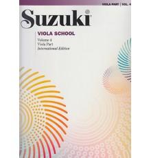 Suzuki. Viola Vol. 4.  Revised