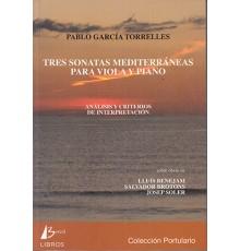 Tres Sonatas Mediterráneas para Viola y