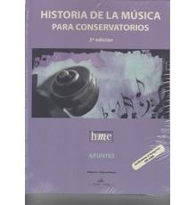 Historia de la Música para Conservatorio