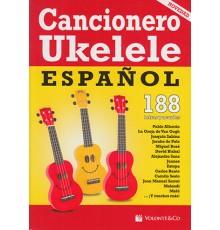 Cancionero Ukelele Español. 188 Letras y