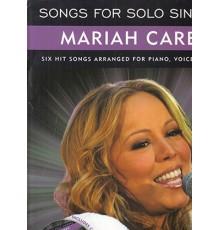 Songs for Solo Singers Mariah Carey   CD