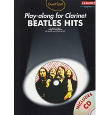 Play-Along Clarinet Beatles Hits   CD