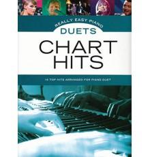 Really Easy Piano Duets Chart Hits