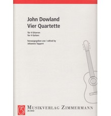 Vier Quartette for 4 Guitarren