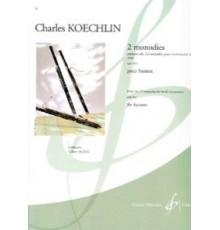 2 Monodies Op. 213 pour Basson
